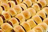 Enroladinhos de Salsicha (Brazilian sausage rolls)