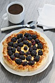 Blackberry tart