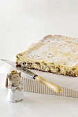 Rum and Raisin Cheesecake Slice