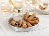 Churros with cinnamon sugar for Christmas