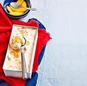 Macadamia-Eiscreme