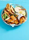English-style seafood basket