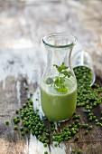 A pea smoothie
