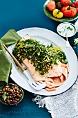 Poached Salmon with Gremolata