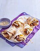 Chai spiced pear crepes