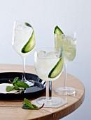 Evergreen (Drink mit Tequila und Gurke)