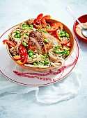 Chicken, Noodles & Beans