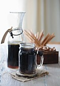 Dark Kvass (Russian drink)