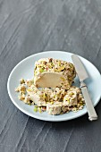 Turkish Halva with pistachio nuts