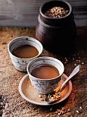 Spelt coffee à la Hildegard von Bingen