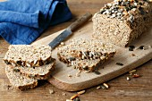 Protein bread with flaxseeds (simple glyx)