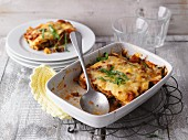 Courgette and minced meat lasagne (LCHF)