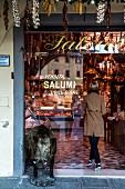 The shop Macelleria Falorni in Greve, Tuscany