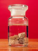 Phosphorus in a jar