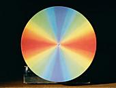 Newton's colour disc