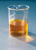 Oxidation of ethanal