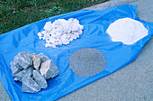 Limestone industry products