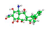 Doxycycline antibiotic molecule
