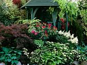 Summer house and garden