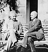 Einstein and Eddington,1930
