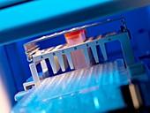 High throughput screening machine