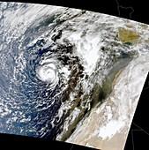 Hurricane Vince,October 2005