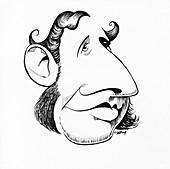 Robert FitzRoy,caricature