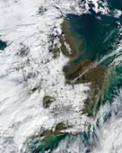 Snowfall in southeastern England,2009