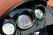 Electric scooter dashboard