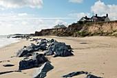 Coastal erosion,Norfolk