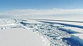 Wilkins Ice Shelf break-up,2008