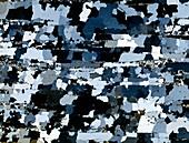 Quartzite mineral,light micrograph