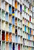 Apartment block demolition