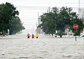 Hurricane rescue effort