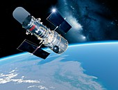Hubble Space Telescope,artwork