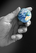Global environment,conceptual image