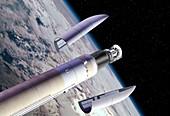 Planck and Herschel mission launch