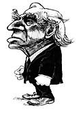 Bertrand Russell,caricature