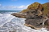 Sea stack,Wales