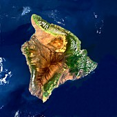 Hawai'i,satellite image