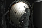 Kepler space telescope mirror