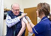 Seasonal flu vaccination
