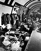 WWII air raid shelter,London Underground