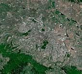 Sofia,Bulgaria,satellite image