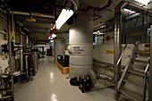Membrane bioreactor sewage treatment