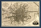 Map of the City of Dublin,1797