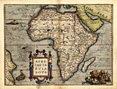 Ortelius's map of Africa,1570