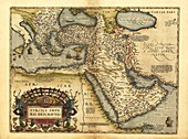 Ortelius's map of Ottoman Empire,1570