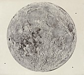 Present-day Moon,Imbrian Period sequence