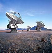 ALMA radio astronomy observatory,artwork